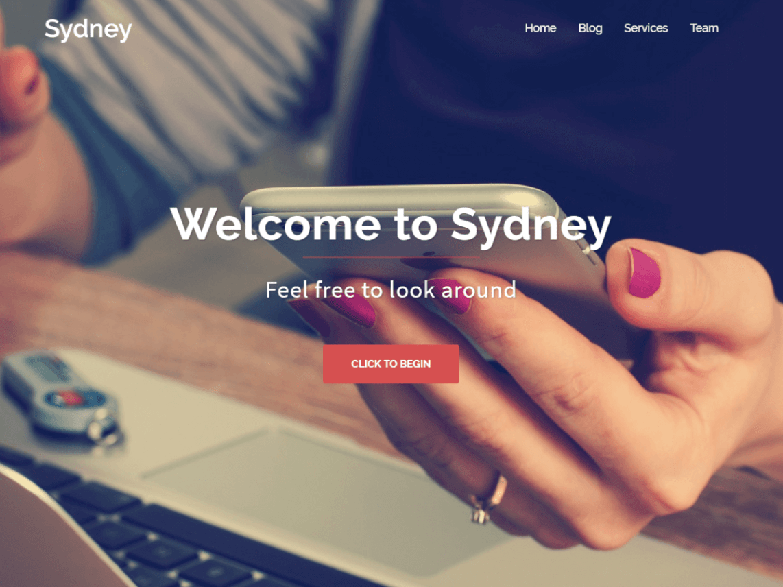 Tema WordPress Sydney